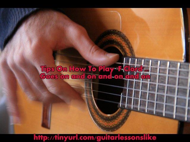 Play guitar songs