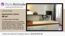 Appartement 1 Chambre à louer - Levallois Perret, Levallois Perret - Ref. 3554