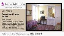 Appartement Alcove Studio à louer - St Paul, Paris - Ref. 1174