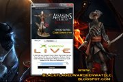 Assassins Creed IV Black Flag Edward Kenway Action Figure DLC Redeem Code PS3 and Xbox360