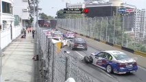 WTCC Macao 2013 Race 2  Pile up under safety car