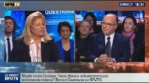 BFM Politique: L'interview de BFM Business, Bernard Cazeneuve répond aux questions de Hedwige Chevrillon - 17/11