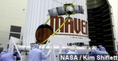 NASA MAVEN Mission Aims To Find Out How Mars Dried Up