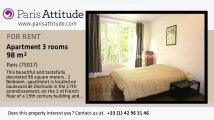 2 Bedroom Apartment for rent - Porte Maillot/Palais des Congrès, Paris - Ref. 6583