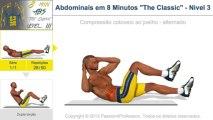 """Abdominais em 8 Minutos """"The Classic"""" - Nìvel 3"""