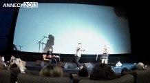 Festival d'Annecy 2013 - Mini-concert Dionysos - Jack et la mécanique du coeur