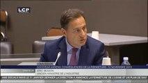 TRAVAUX ASSEMBLEE 14EME LEGISLATURE : Audition de M. Éric Besson, ancien ministre de l'Industrie, de l'énergie et de l'économie numérique, par la Commission d'enquête Goodyear.