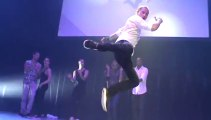 Dresden DER Touristik Galaabend im Eventwerk Come Closer 09.11.2013 Katalogvorstellung Event Onlinebuchung im Reisebüro Fella Hammelburg Breakdance, Breaking, B-Boying bzw. B-Girling