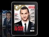 Notre Homme de l'année Zlatan Ibrahimovic est en Une de GQ - Décembre 2013
