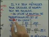Calculs de pourcentages et proportionnalité