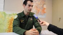 La mission de pilote d'un avion de transport militaire