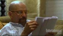 Bryan Cranston, Aaron Paul, leyendo el último guión de Breaking Bad