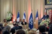 Discours lors du dîner d'État offert par le Président Shimon Peres en Israël