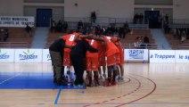 esct sqy vs Bc oissel 8eme journee du championnat nationale 3 2013-2014