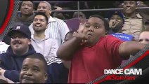 Impromptu Dance Off Between Boy And Stadium Usher During Detroit Pistons Game