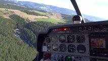 Atterrissage à Mende (LFNB) piste 13 en DR400 Ecoflyer