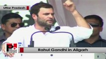 Rahul Gandhi in Aligarh: Only Congress party fights for people's rights; others ignore the poor