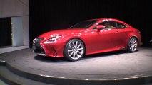 Vidéo Lexus RC 300h Sport Coupé au Tokyo Motor Show 2013