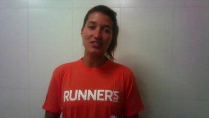 Gabi - Capa da Runner's World de Dezembro