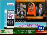 Malala is Proud of Pakistan , i don't know why few people criticize her - Mujeeb ur Rehman Shami