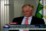 UE celebra lucha contra el narcotráfico que adelanta Bolivia