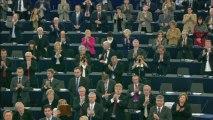Pakistan's Malala receives EU Sakharov rights prize