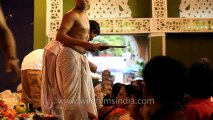 Aarti at a Puja pandal: Kolkata Durga Puja