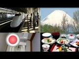 Top 5 Japanese attractions! Mt Fuji, Subway, Toilets!?