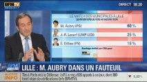 BFM Story: les municipales à Lille: Martine Aubry serait réélue, selon le sondage CSA-BFMTV - 20/11