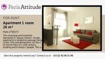 Studio Apartment for rent - Porte Maillot/Palais des Congrès, Paris - Ref. 8479