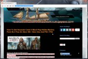 Assassins Creed IV Black Flag Hidden Mystery Pack DLC Redeem Code PS3 and Xbox360