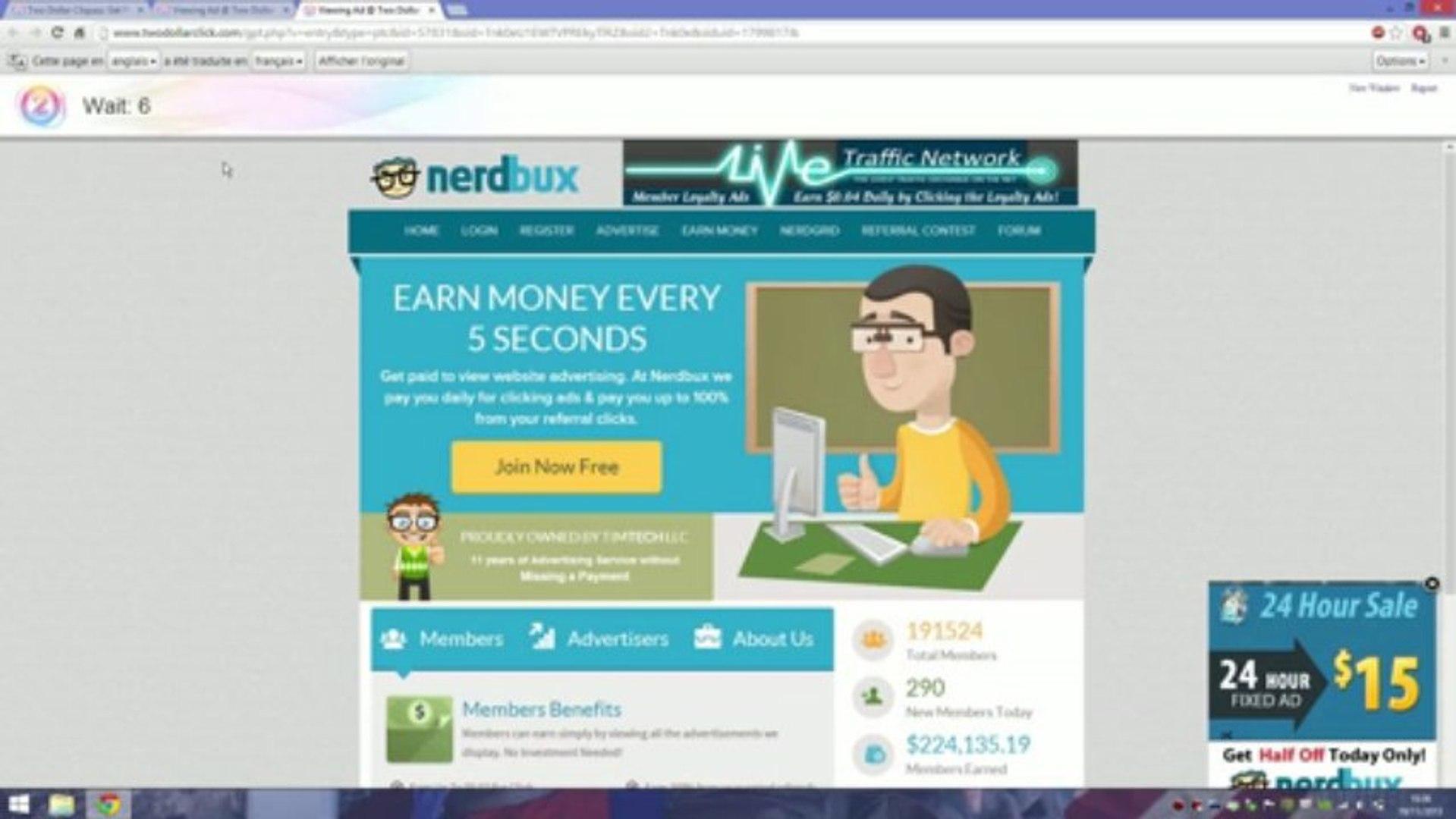 Comment gagner de l'argent sur internet? 260€ / 350$ par mois