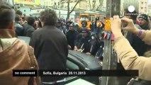 Bulgarie : manifestation contre le chômage et la corruption
