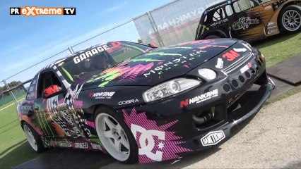 Gymkhana Grid en Madrid - Una vuelta con Buttsy Butler a puro drift! PRExtreme TV Channel (HD)