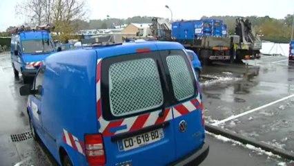 Neige : ERDF à pied d'oeuvre pour rétablir le courant en Auvergne