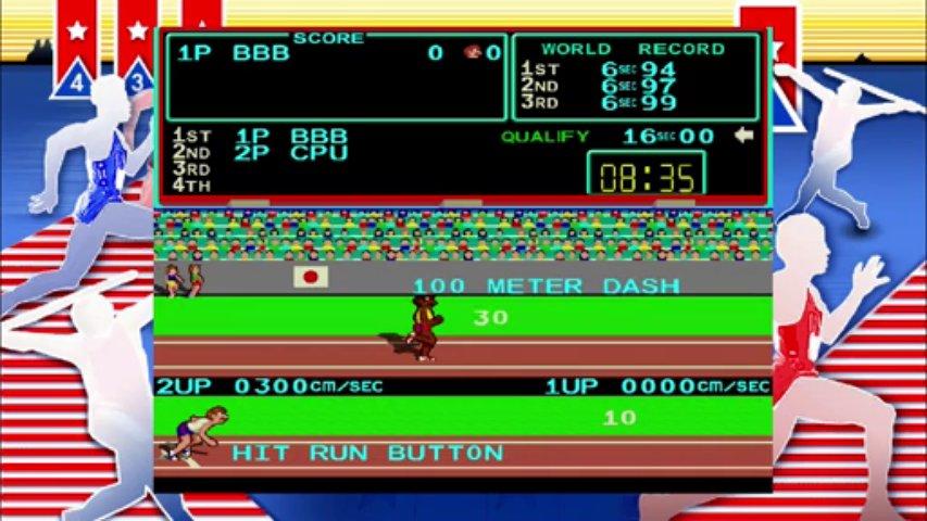 (thegamer) track and field arcade