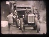 En route pour les battages 1954