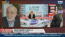 Jean-Marc Lech, Jean-Paul Betbèze et Luc Bérille, dans Le Grand Journal - 21/11 2/4