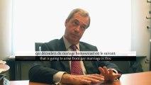 Claire Séverac et Marion Sigaut rencontrent Nigel Farage