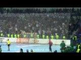 Ambiance Buducnost-Fenercvaros 17/11/13 / Ligue des Champions Féminine Handball