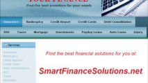 SMARTFINANCESOLUTIONS.NET - I owe 30000 in credit cards , will I have to file for bankruptcy , i have my house paid for what can they do t?