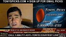 Boise St Broncos vs. San Diego St Aztecs Pick Prediction NCAA College Football Odds