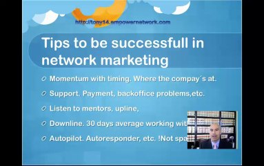 tips to be successful MLM