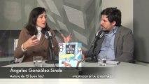Ángeles González-Sinde, autora de 'El buen hijo'. 21-11-2013