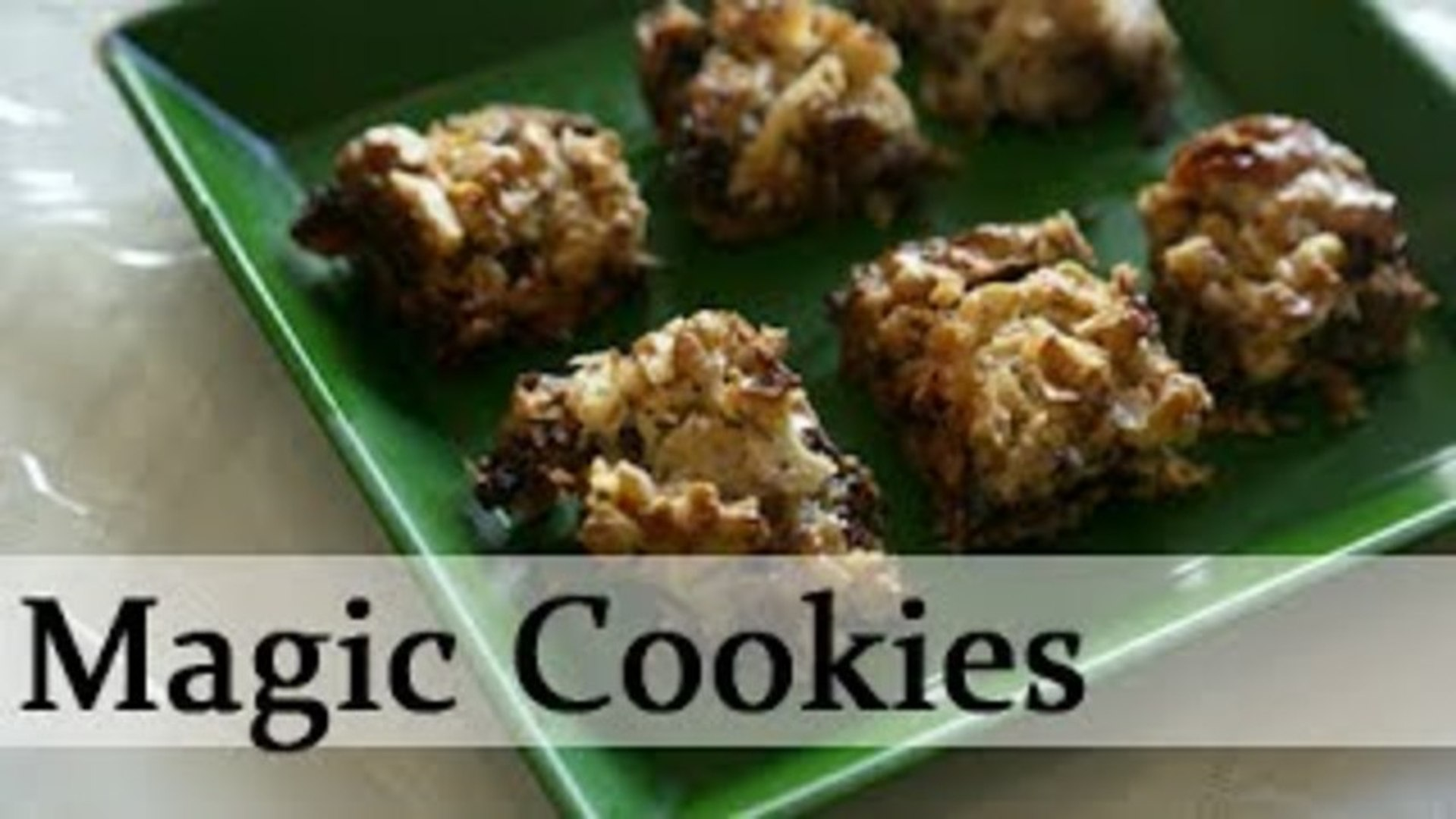 Magic Cookies - Sweet Cookies - Anytime Anywhere Light Snacks Recipe By Annuradha Toshniwal [HD]