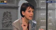 """Vallaud-Belkacem : """"La prostitution n'est jamais un projet de vie"""""""