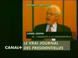 jospin le 17 Avril 2002