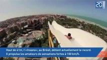 Le plus haut et le plus rapide toboggan du monde