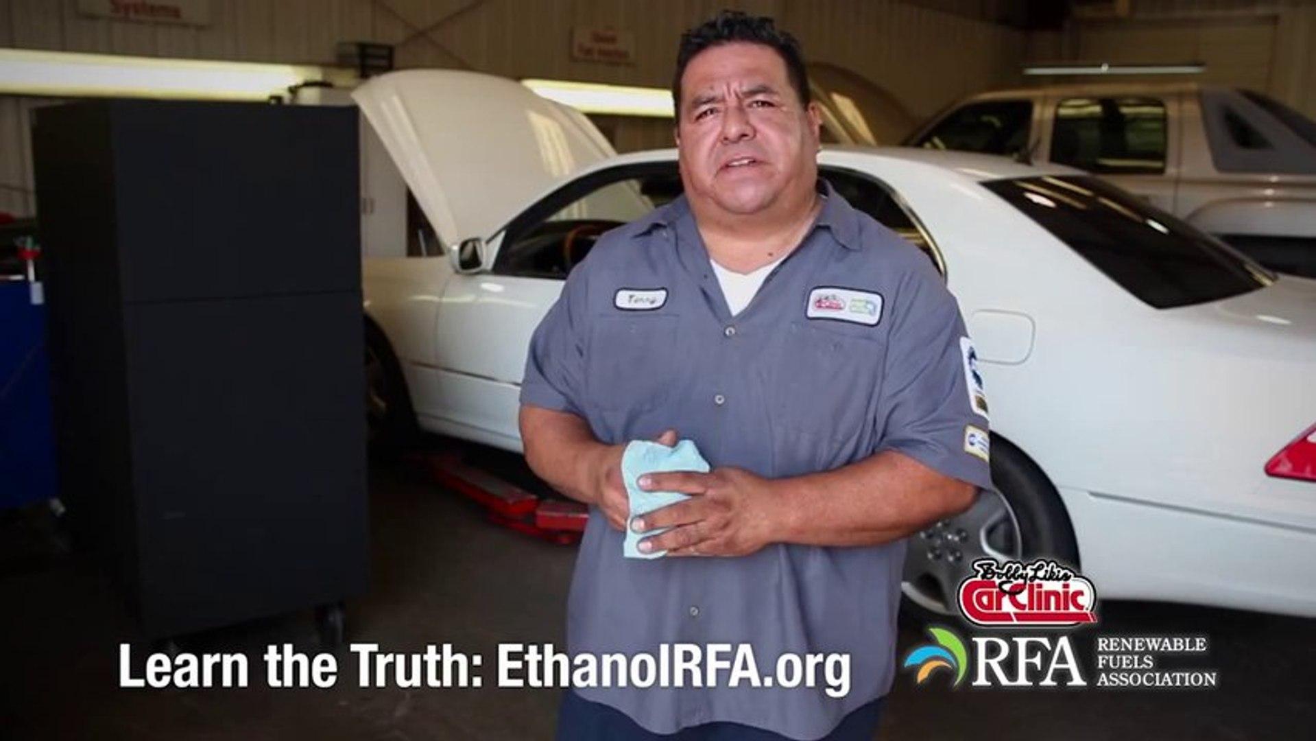 Bobby Likis Car Clinic Respect the Earth Go Ethanol