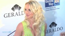 Britney Spears' Dazzles At Album Listening Party!